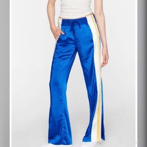 Pam & Gela Triple Stripe Satin Track Pants PG5